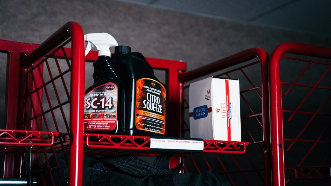 SC Products | Firefighting Decon