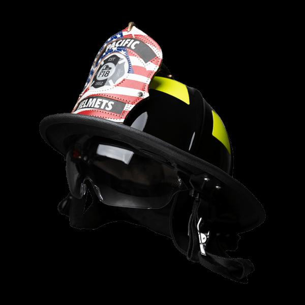 Pacific Helmets F18 Traditional Firefighter Helmet