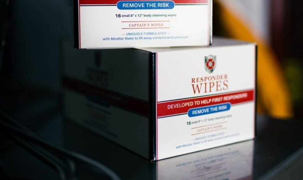 Firefighter Wipes