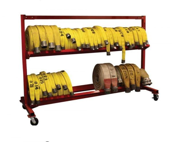 "Mobile Hose Cart - 104"" 2 Tier"