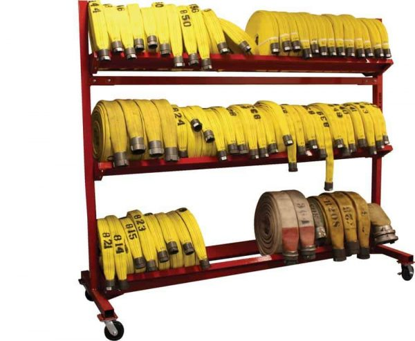 "Mobile Hose Cart - 104"" 3 Tier"