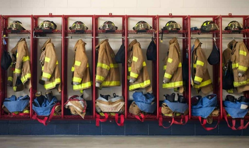 Racks For Turnout Gear