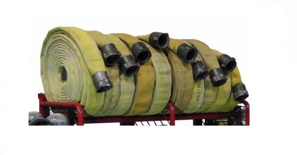 Multiple Purpose Storage System - Double Compartment Length Hose Ledge