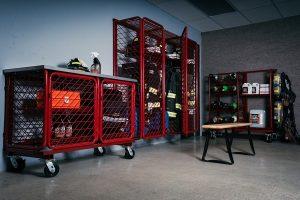SCBA Storage Worktables