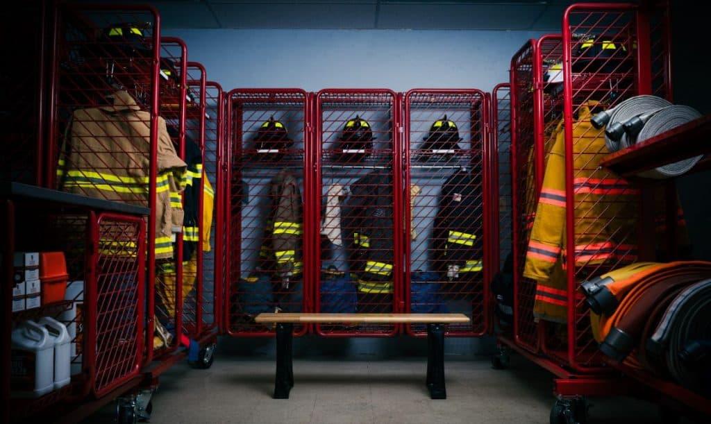 Storing Firefighter Gear