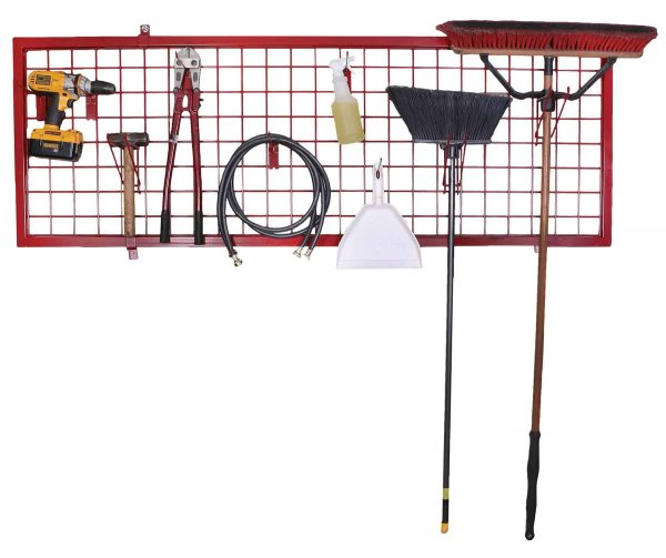 Wall Rack With Items